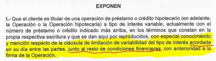 Respuesta banco sabadell devoluci n cl usula suelo for Documentacion para reclamar clausula suelo